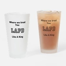 LAPD Drinking Glass