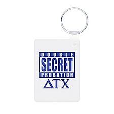 Delta House Double Secret Probation Keychains