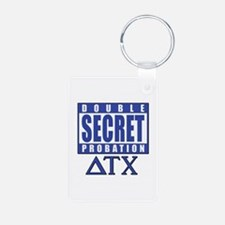 Delta House Double Secret Probation Keychains
