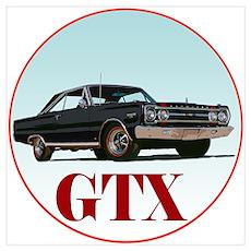 The Avenue Art GTX Poster