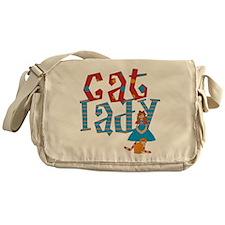 Cat Lady Messenger Bag
