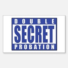 Double Secret Probation Animal House Decal