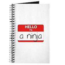 Hello I'm a Ninja Journal