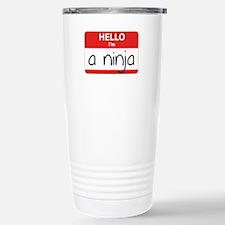 Hello I'm a Ninja Travel Mug