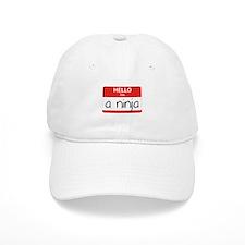 Hello I'm a Ninja Baseball Cap