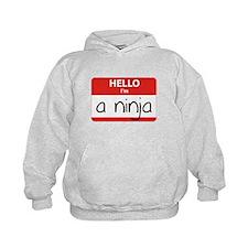 Hello I'm a Ninja Hoodie
