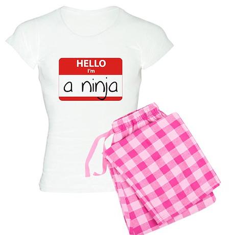 Hello I'm a Ninja Women's Light Pajamas