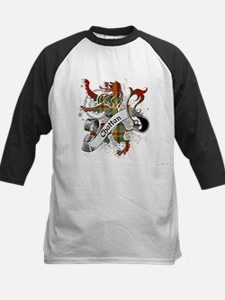 Chattan Tartan Lion Kids Baseball Jersey