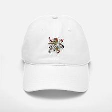Chattan Tartan Lion Baseball Baseball Cap