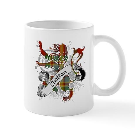 Chattan Tartan Lion Mug