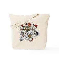 Chattan Tartan Lion Tote Bag