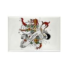 Chattan Tartan Lion Rectangle Magnet