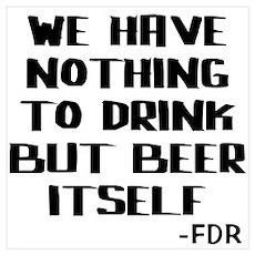 Beer Itself Poster