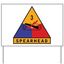 3rd Armored Division - Spearh Yard Sign