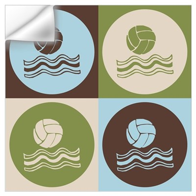 Water Polo Pop Art Wall Decal