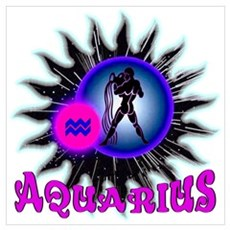 Aquarius Dark Star Poster