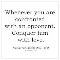 Mahatma Gandhi 21 Poster