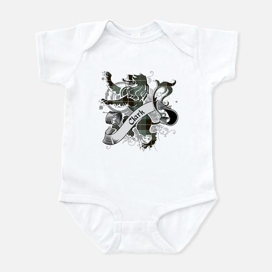 Clark Tartan Lion Infant Bodysuit