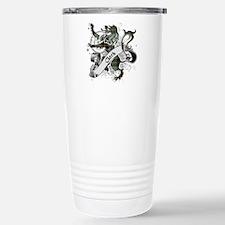 Clark Tartan Lion Travel Mug