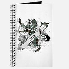 Clark Tartan Lion Journal