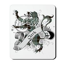 Clark Tartan Lion Mousepad