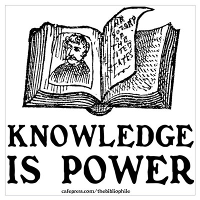 Knowledge Is Power Canvas Art