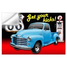 Get Your Kicks! Wall Decal
