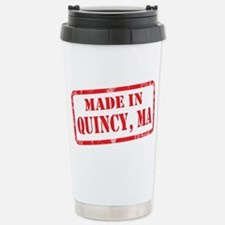 MADE IN QUINCY, MA Stainless Steel Travel Mug