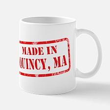 MADE IN QUINCY, MA Mug