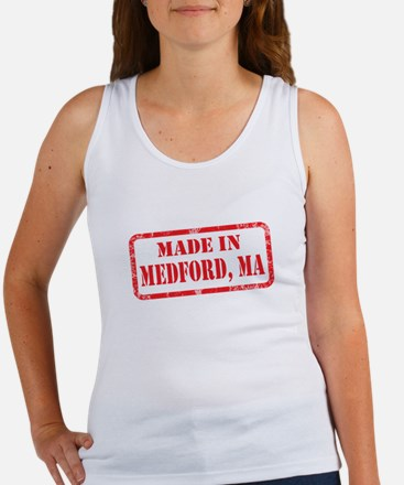 MADE IN MEDFORD, MA Women's Tank Top