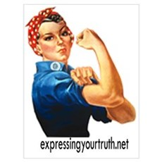 Expressing Your Truth Framed Print