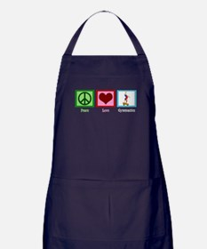 Peace Love Gymnastics Apron (dark)