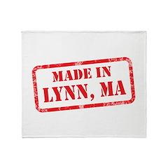 MADE IN LYNN, MA Throw Blanket