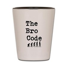 'The Bro Code' - shot glass.