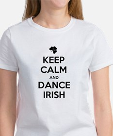 KEEP CALM DANCE IRISH Women's T-Shirt
