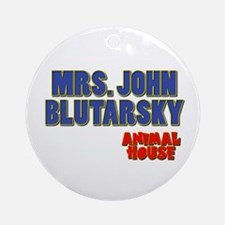 Mrs. John Blutarsky Animal House Ornament (Round)