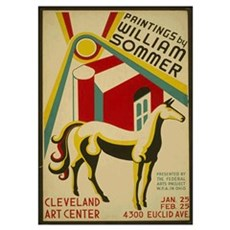 William Sommer Poster