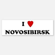 I Love Novosibirsk Bumper Bumper Bumper Sticker