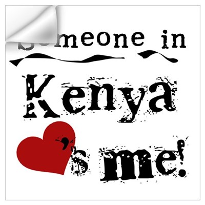 Kenya Loves Me Wall Decal