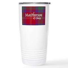 Tartan - MacPherson of Cluny Travel Mug
