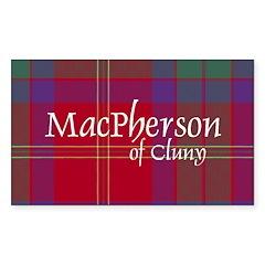 Tartan - MacPherson of Cluny Decal
