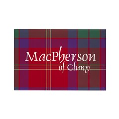 Tartan - MacPherson of Cluny Rectangle Magnet (10