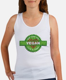 Vegan Eat Like You Give a Damn Women's Tank Top