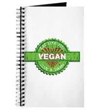 Vegan Eat Like You Give a Damn Journal