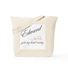 Edward Heart Tote Bag