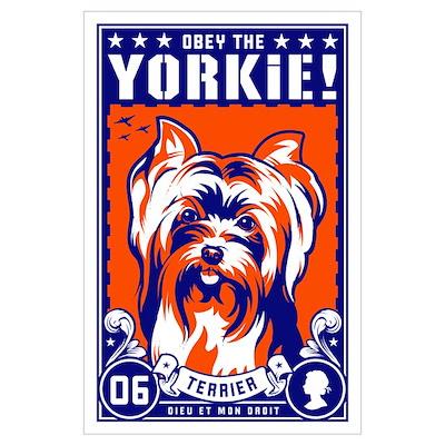 Yorkshire Terrier Large Propaganda Poster