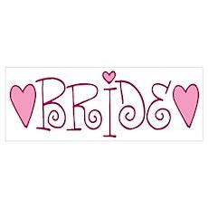 Bride Love Letters Poster