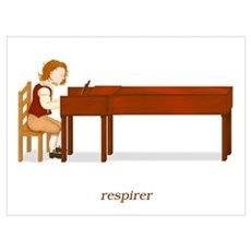 La Vie d'un Pianiste (Respirer) Poster