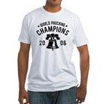 World Phucking Champions 2008 Fitted T-Shirt