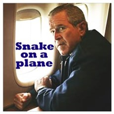 Snake on a Plane Poster